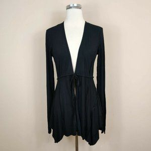 Bailey 44 Tie Waist Cardigan Sweater Grommet Back